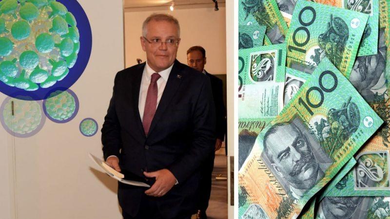 Australia government stimulus relief fund