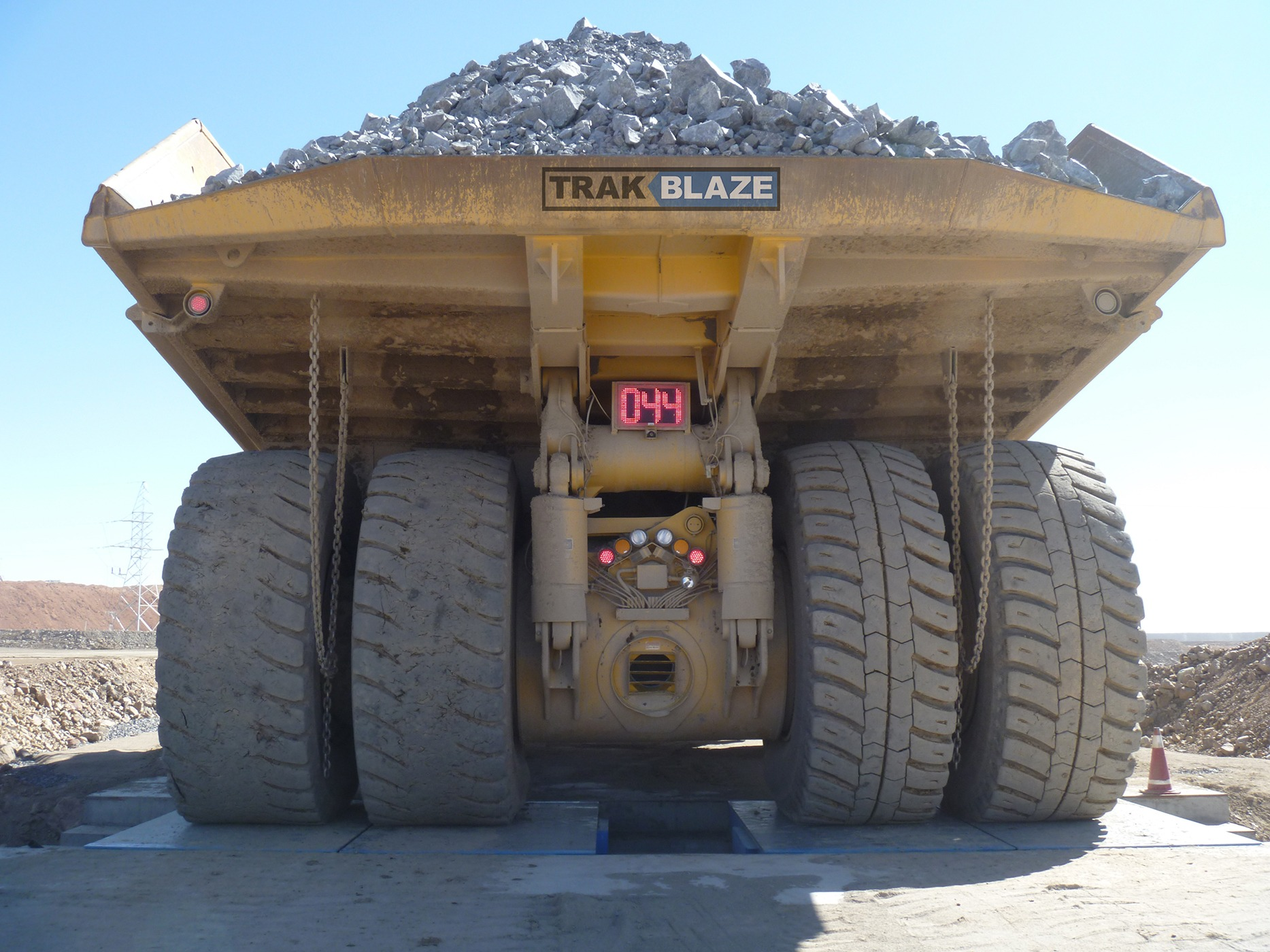 mining truck scale Force 24