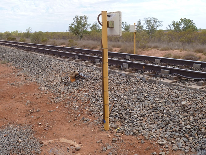 Rail weighbridge installation