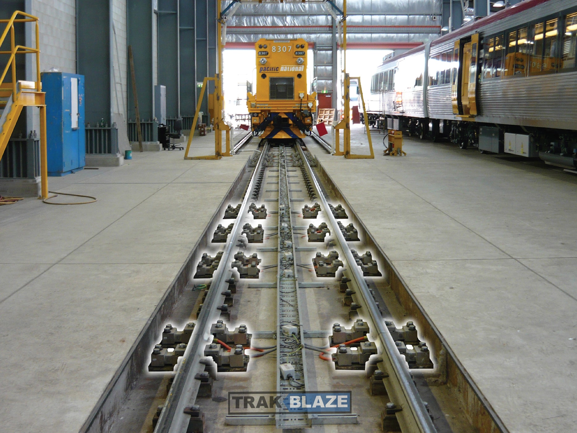 Static Rail Weighbridge & Balance System